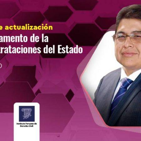 Seminario de actualización: nuevo Reglamento de la Ley de Contrataciones del Estado (23 de marzo)