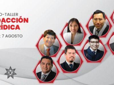 Curso-taller de redacción jurídica (virtual o presencial). Inicio 7 de agosto 2019