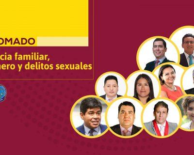 Diplomado en violencia familiar, de género y delitos sexuales (virtual o presencial)