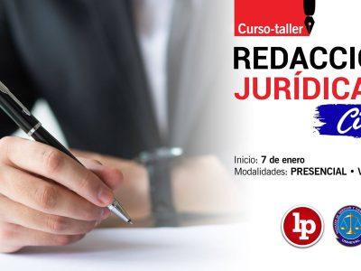 Curso-taller de redacción jurídica en materia civil (presencial o virtual). Inicio: 7 de enero de 2020