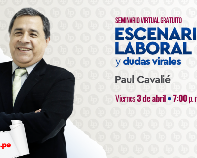 Seminario gratuito «Escenario laboral y dudas virales», por Paul Cavalié